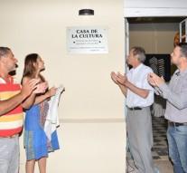 Se inauguró la Casa de la Cultura en Lehmann