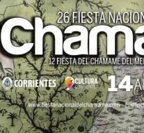 El Ente Cultural junto a Enrique Llopis presentes en la «Fiesta Nacional del Chamame»