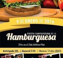 """Llega la """"Fiesta Santafesina de la Hamburguesa"""" a Pilar"""