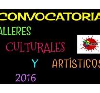 """Santa Clara de la Buena Vista: Convocatoria para dictar """"Talleres Culturales"""""""