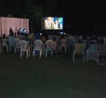 """""""5ta. Noche de Cine al aire libre"""" en Santa Clara de Buena Vista"""