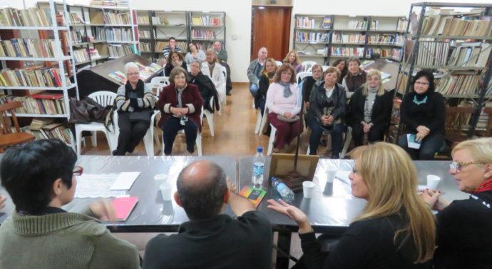 """Moisés Ville disfrutó del Ciclo """"Historias de Poetas Santafesinos"""""""