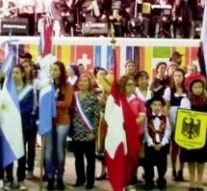 Se presenta la Fiestas de las Colectividades en Esperanza