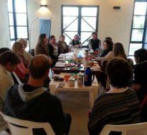 La Usina II del Ente  Cultural Santafesino se reunió en Grutly