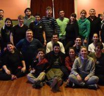 Ataliva: «Salve Argentina» visitó la Usina Cultural II