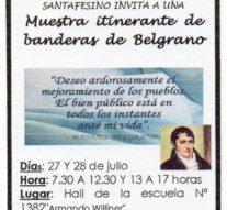 """""""Las Banderas de Belgrano"""" visitan la comunidad de Bella Italia"""