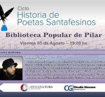 """""""Historias de Poetas Santafesinos"""" inicia su recorrido en Pilar"""