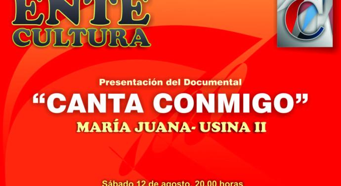 «Cantá Conmigo» se presentará en la localidad de María Juana