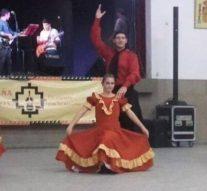 La Escuela de Folclore comunal de Bella Italia actuó por primera vez  en Rafaela
