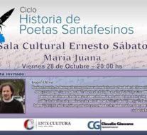 """""""Historias de Poetas Santafesinos"""" llega a María Juana"""