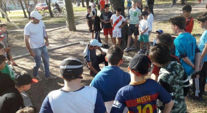 """""""Torneo Provincial de Bolitas"""" en Ramona"""