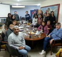 La comunidad de Pilar recibió a los integrantes de la Usina Cultural II