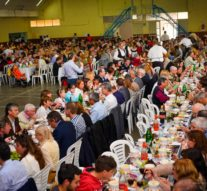 Humberto Primo: Más de 1.200 personas disfrutaron de la tradicional bagna cauda