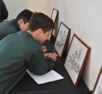 La muestra de «Juan Arancio» pasó por la comunidad de Ataliva