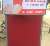 La Biblioteca «Hector P. Reinaudi» de Lehmann se prepara para distintas actividades culturales