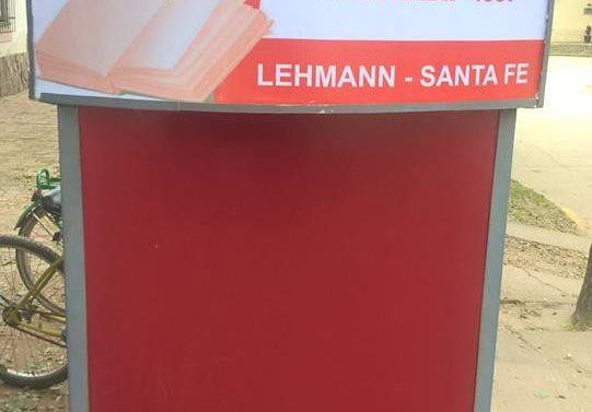 """La Biblioteca """"Hector P. Reinaudi"""" de Lehmann se prepara para distintas actividades culturales"""