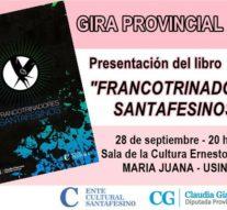 María Juana presenta la Antología «Francotrinadores Santafesinos»