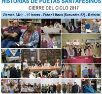 """El ciclo """"Historias de Poetas Santafesinos"""" tendrá su cierre en Rafaela"""