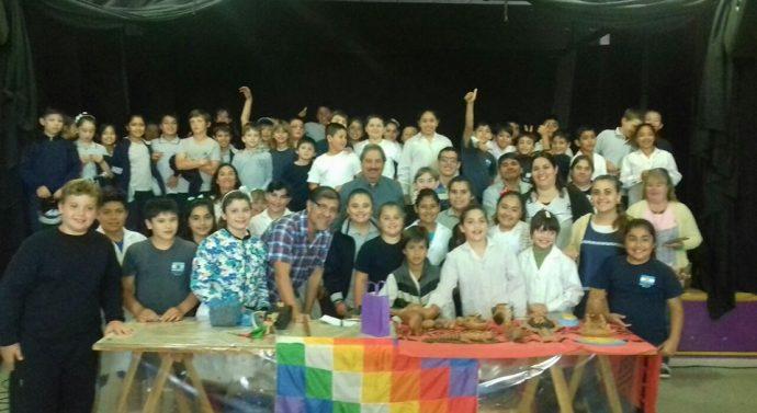 Néstor Lanche, el artesano sanjavierino, visitó la comunidad de María Juana