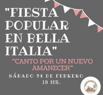"""Fiesta Popular"" en Bella Italia"