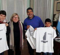 La Intendente de Esperanza recibió a los ganadores locales del» Torneo de Bolitas»