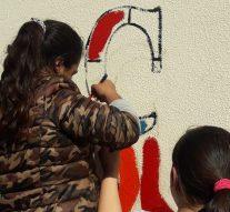 """En la comunidad de La Pelada se pintó un nuevo """"Faro de Campo"""""""