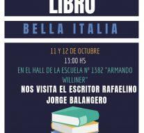 Bella Italia desarrollará la «6° Feria del Libro»