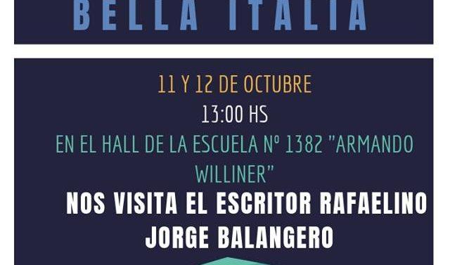 """Bella Italia desarrollará la """"6° Feria del Libro"""""""