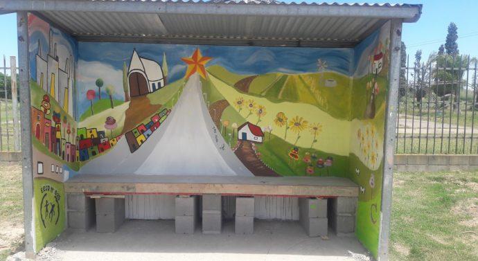 Un nuevo «Faro de Campo» se pintó  en Bella Italia
