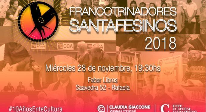 """""""Los Francotrinadores Santafesinos"""" cierran un nuevo año con poesías en Rafaela"""