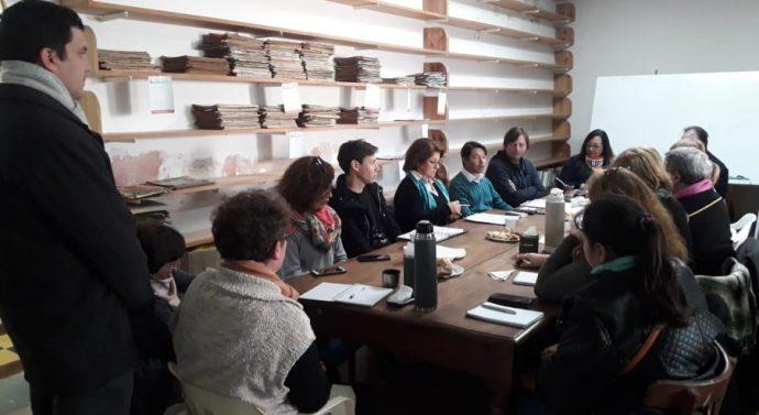 Humberto 1° fue sede de la reunión de la Usina II del Ente Cultural Santafesino