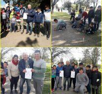 Sarmiento  llevó a cabo el «Torneo Provincial de Bolitas»