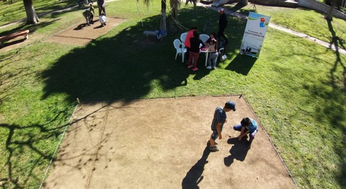 En Providencia se disputó la etapa local del «Torneo de Bolitas»