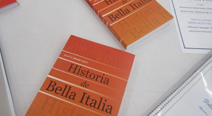 Se presentaron los libros Historia de Bella Italia y Entrevistas