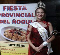 Grütly: Giuliana Kalbermatter nueva Reina Provincial del Ñoqui