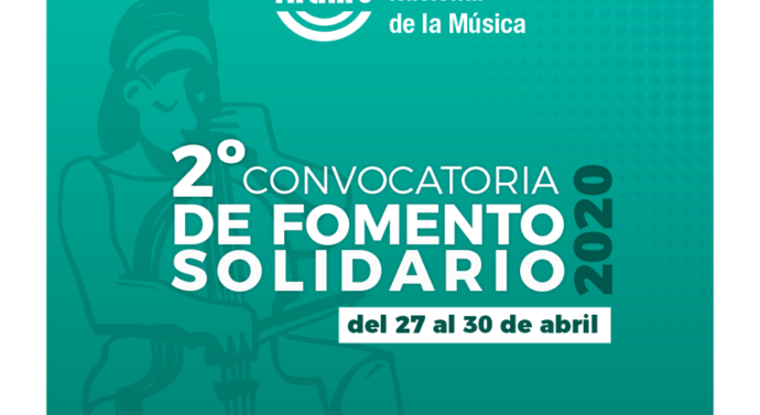 Segunda Convocatoria de Fomento Solidario 2020