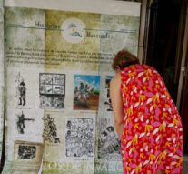 Lehmann recibió la muestra «Historias Ilustradas»