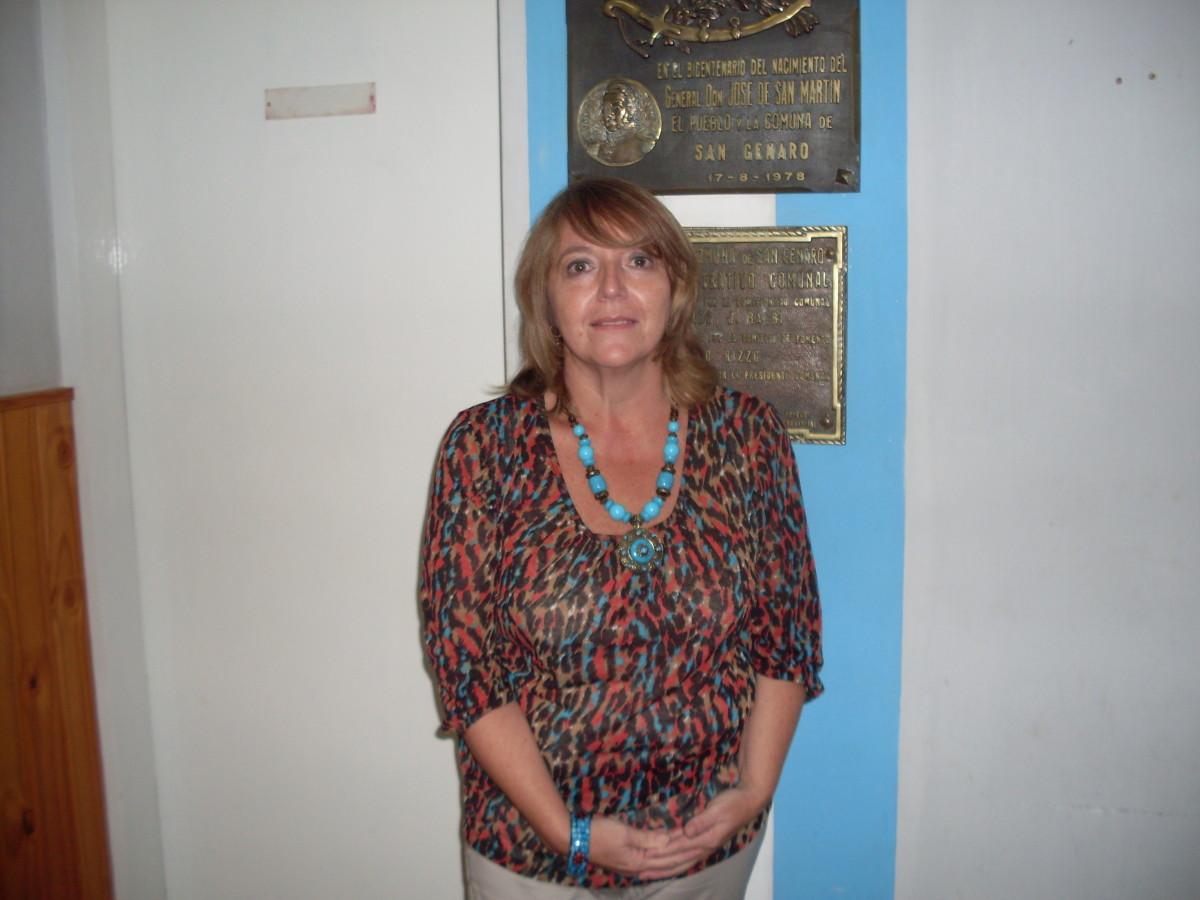 La Prof. Alejandra Vismara presidirá el Ente Cultural durante el año 2013