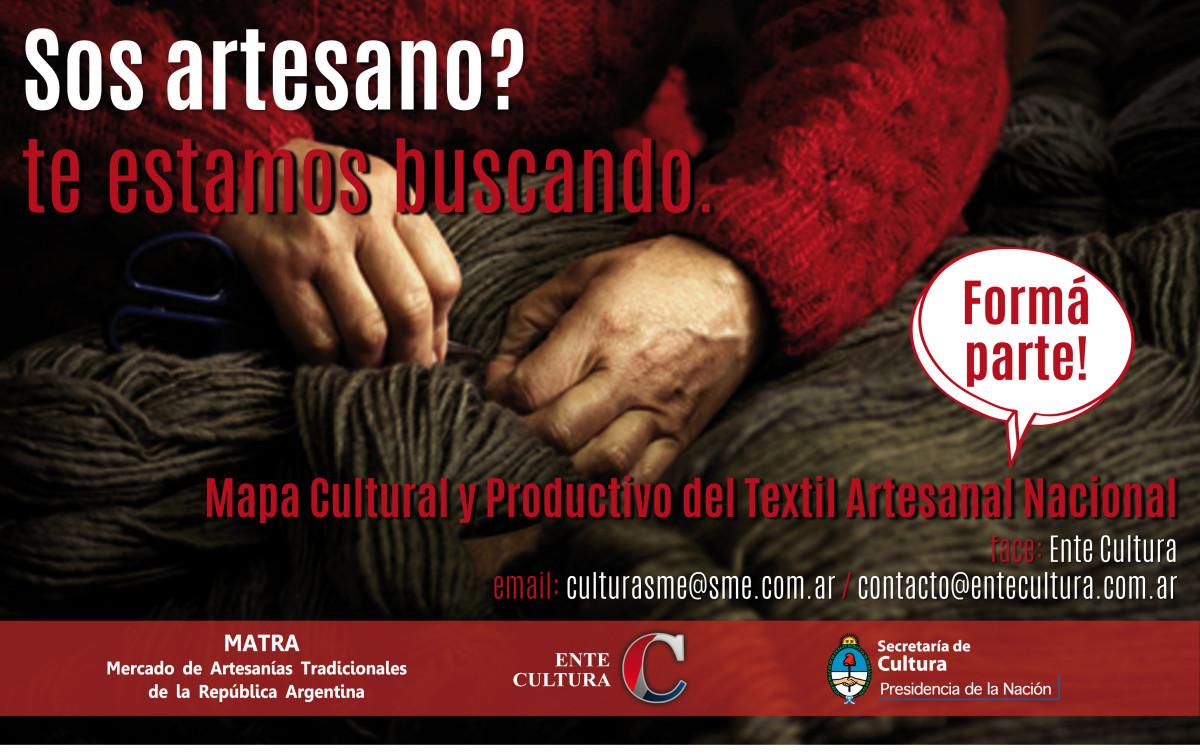 El Ente Cultural Santafesino coordina relevamientos de artesanos
