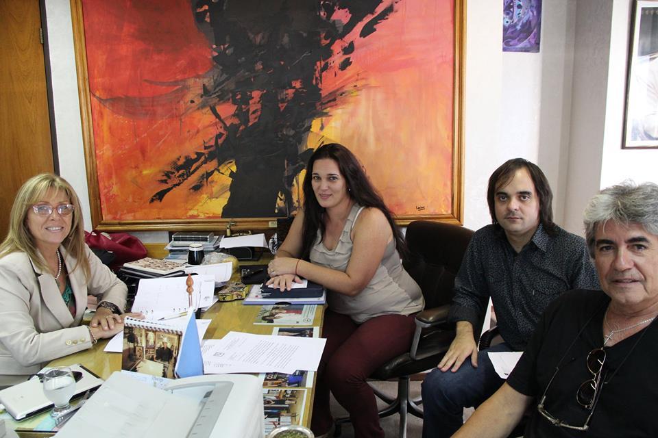 Entrevista con la Diputada Nacional Giaccone y visita al Museo Evita