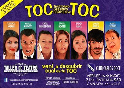 """Cañada del Ucle: Se presenta la Obra """"TOC-TOC"""""""
