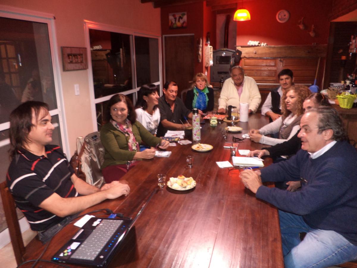En Cañada del Ucle se reunió la Usina Cultural III