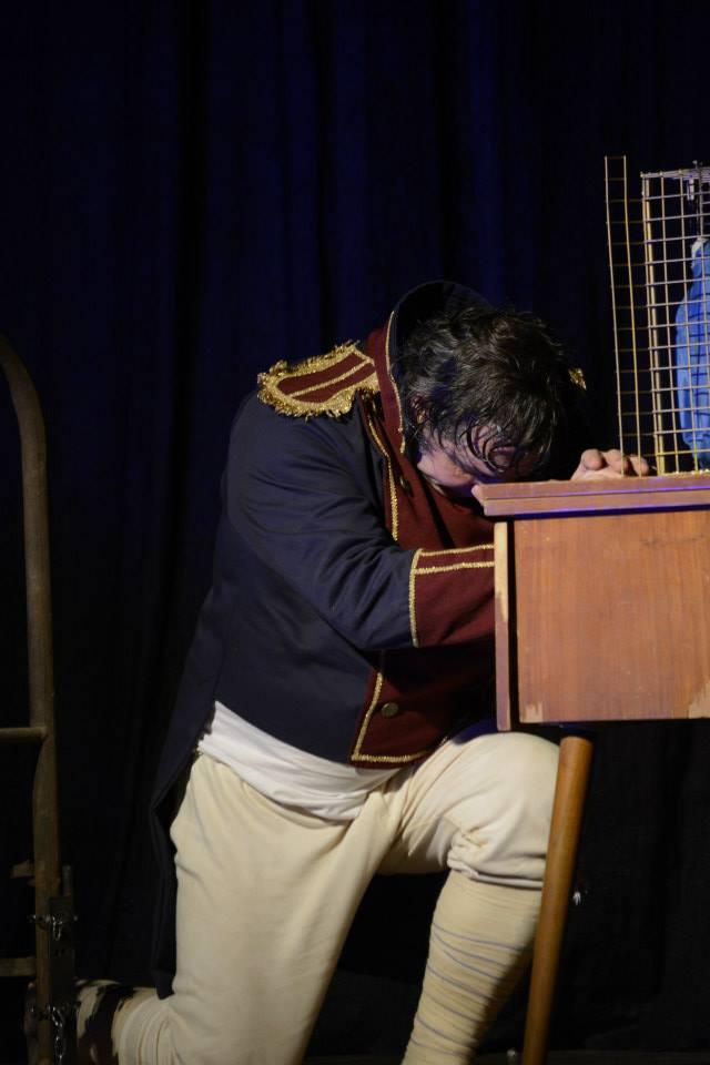 """Emotiva presentación de """"El Delirio y la Lluvia"""" en San Gregorio"""