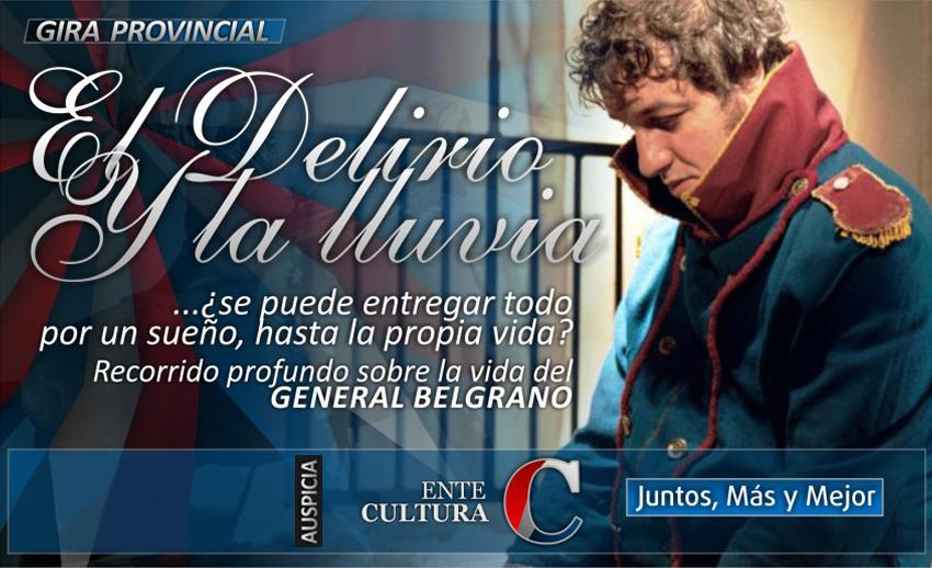 """Comienza la Gira Provincial de """"El Delirio y la Lluvia"""" en la Usina III"""