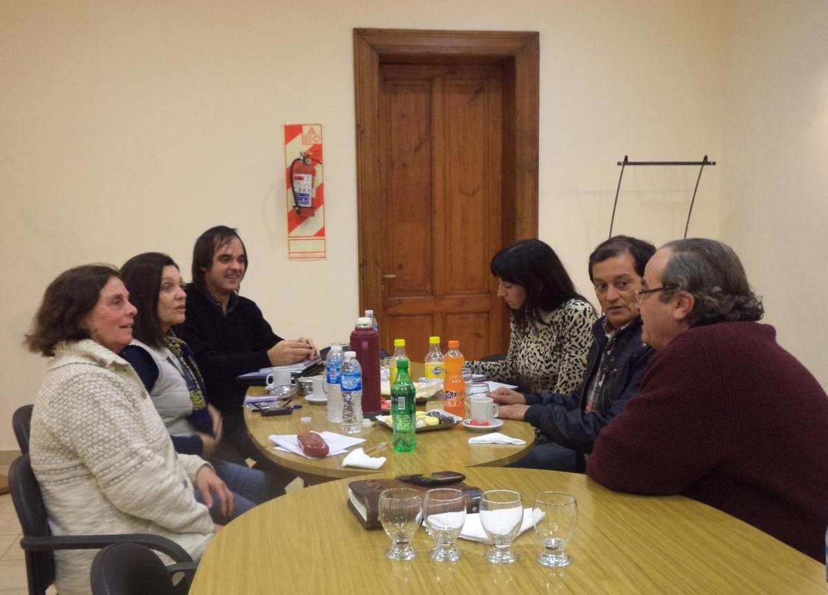 San Gregorio albergó una nueva reunión de la Usina III del Ente Cultural
