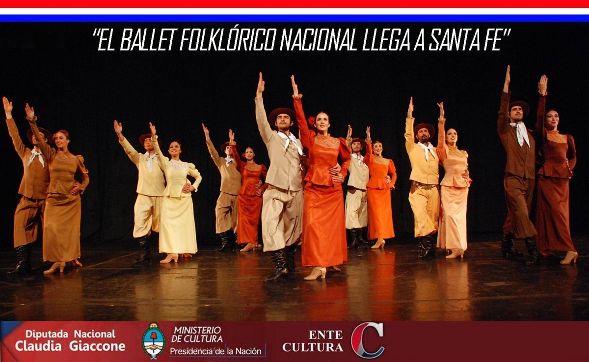 """Cañada del Ucle: Seminario a cargo del """"Ballet Folclórico Nacional"""""""