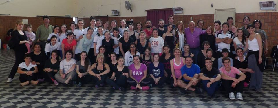 """El """"Ballet Folclórico Nacional"""" capacitó a bailarines del sur santafesino"""