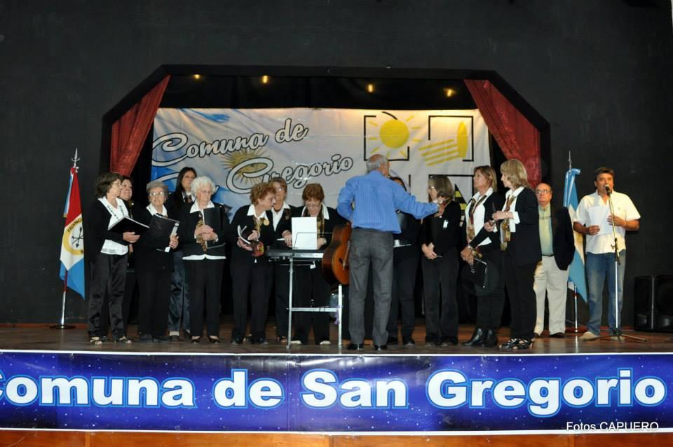 San Gregorio: Cierre de actividades en Casa de la Cultura