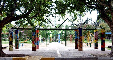 San Gregorio: Mucho más que columnas pintadas