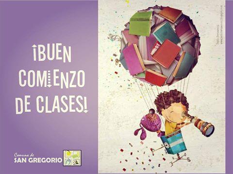 Más de 1000 libros y Útiles Escolares llegan a San Gregorio